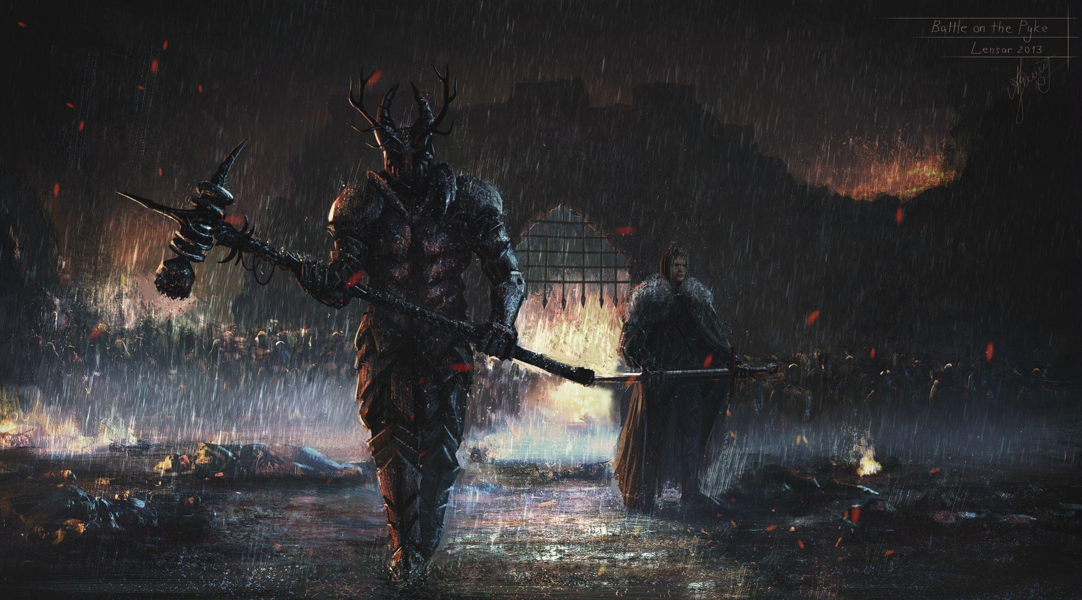 10 Stunning Works Of Art Inspired By Game Thrones