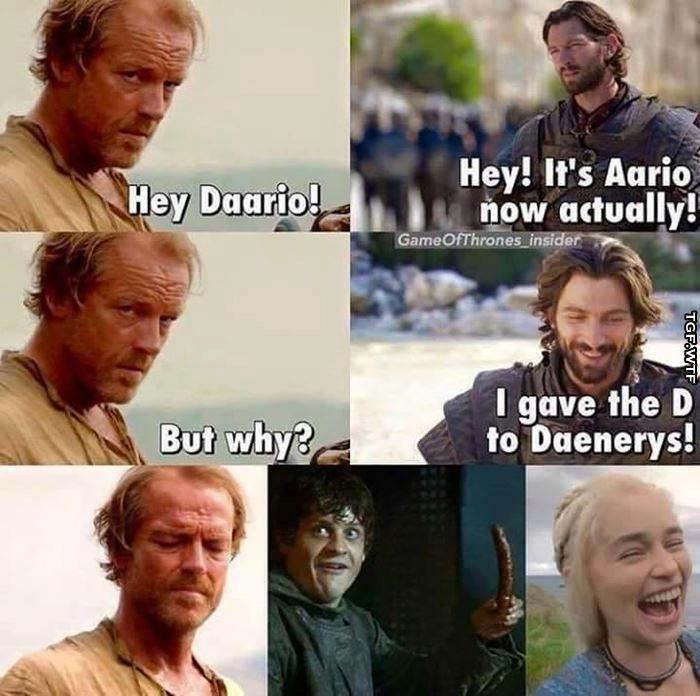Daario Naharis Pwns Jorah Mormont