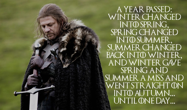 01 - Winter Is Coming