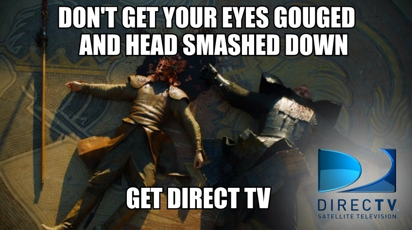 Oberyn Martell Direct TV Ad Funny