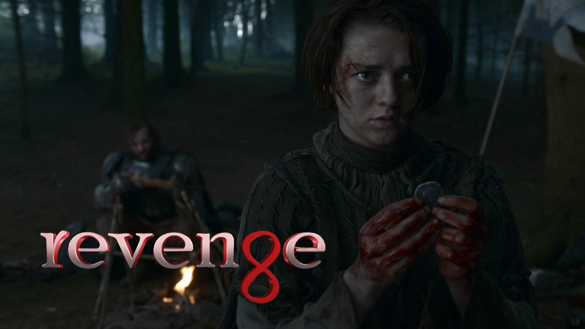 Arya Stark in Revenge