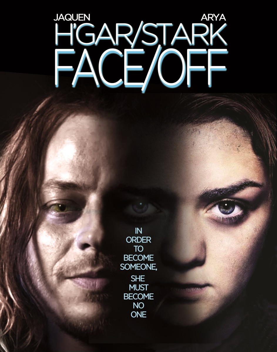 Arya Stark will have to take her face off