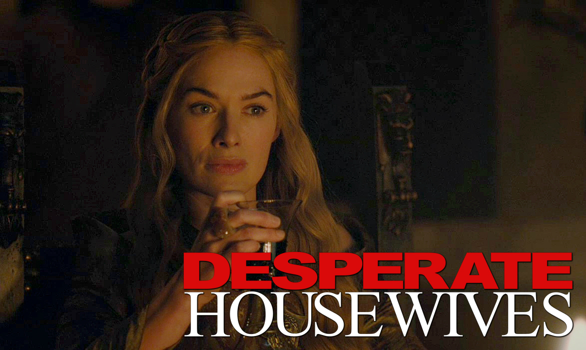Cersei Lannister in Desperate Housewives