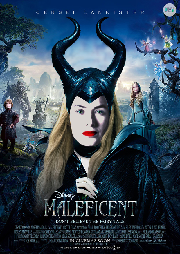 Cersei Lannister is Maleficient