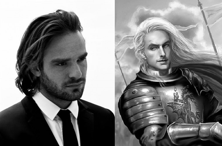 Charlie Cox as Rhaegar Targaryen the Last Dragon