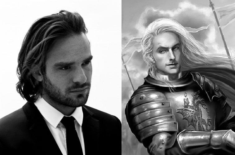 Charlie Cox as Rhaegar Targaryen the Last Dragon