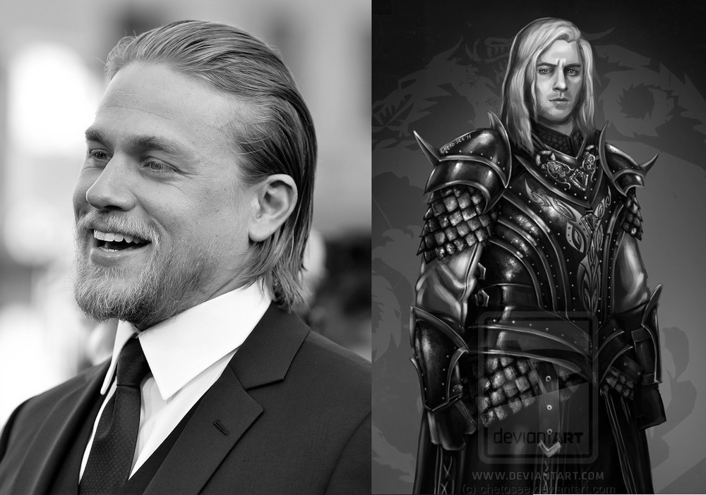 Charlie Hunnam as Rhaegar Targaryen the Last Dragon