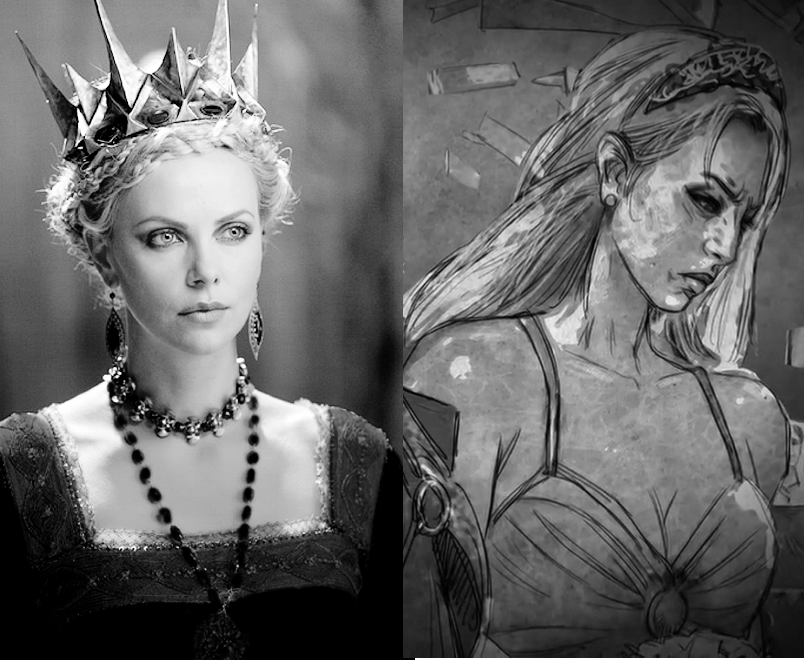 Charlize Theron as Rhaella Targaryen