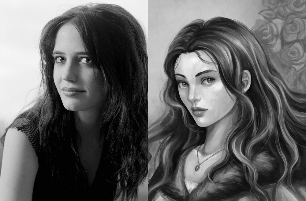 Eva Green as Lyanna Stark the Wolf Maid