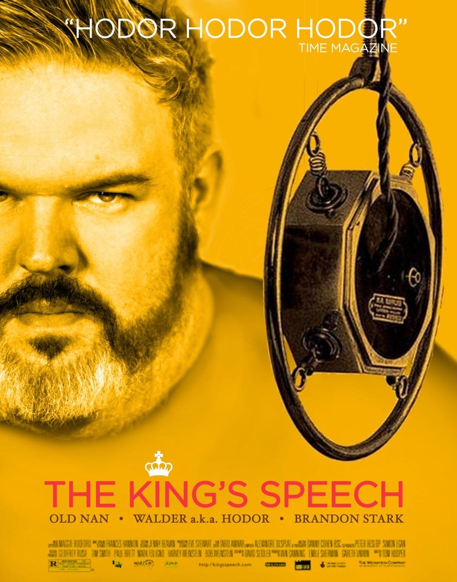 Hodor in The King's Speech