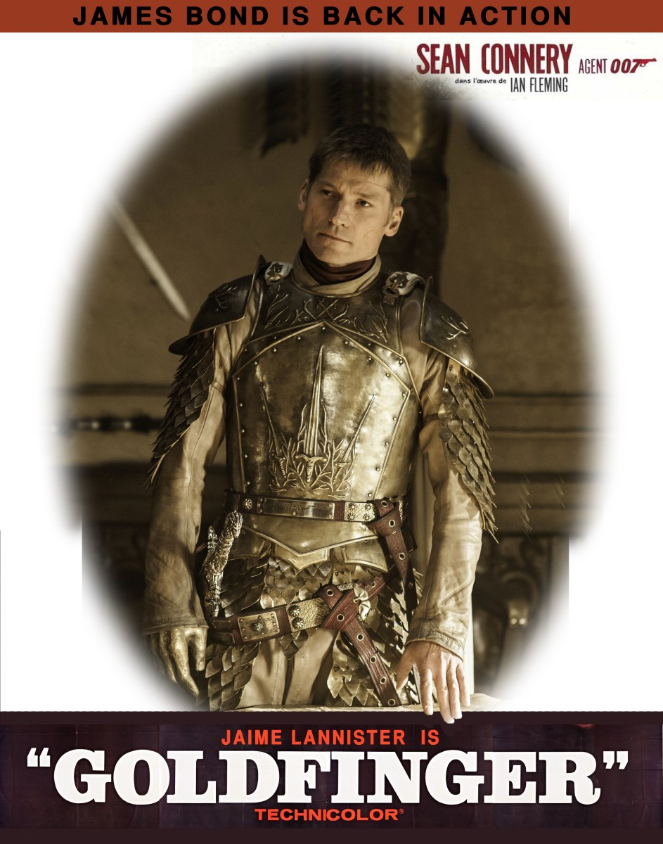 Jaime Lannister is Goldfinger