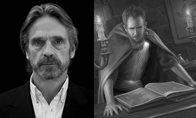 Jeremy Irons as Jon Arryn Lord of the Eyrie