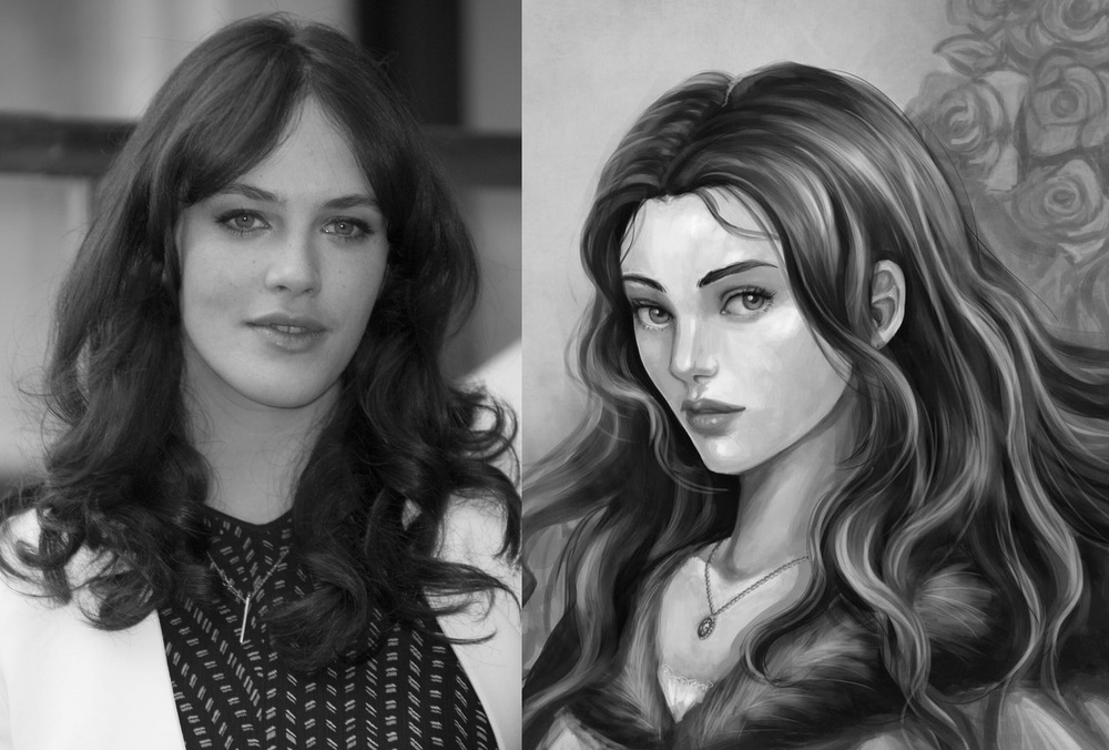 Jessica Brown Findlay as Lyanna Stark the Wolf Maid