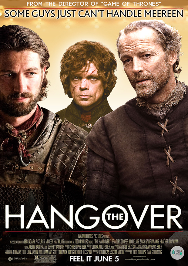 Jorah, Daario and Tyrion - The Hangover