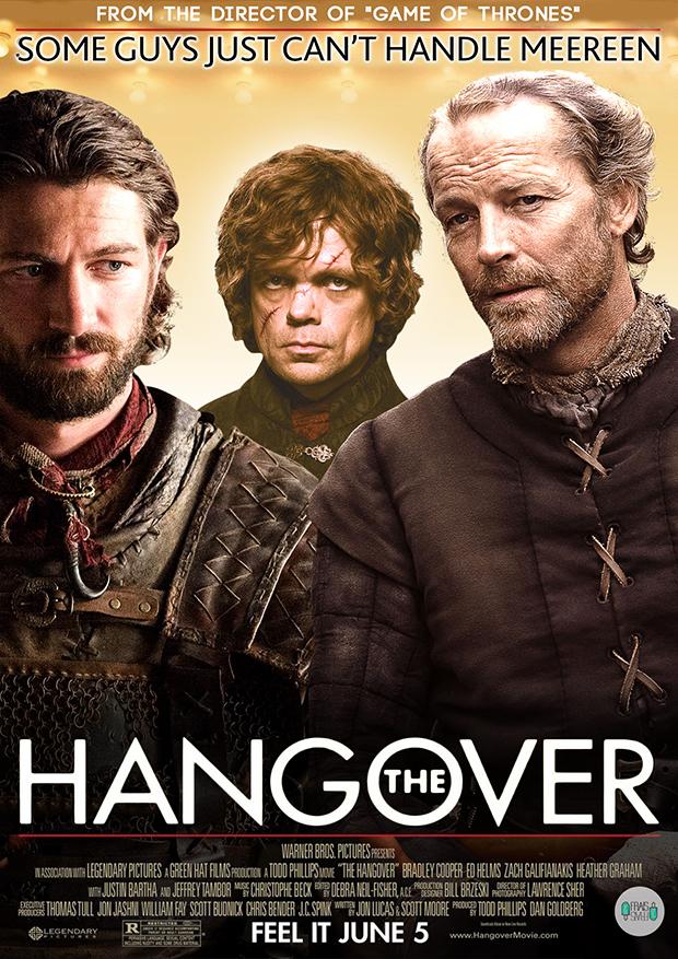Jorah, Daario and Tyrion - The Hangover
