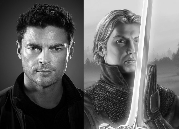 Karl Urban as Arthur Dayne