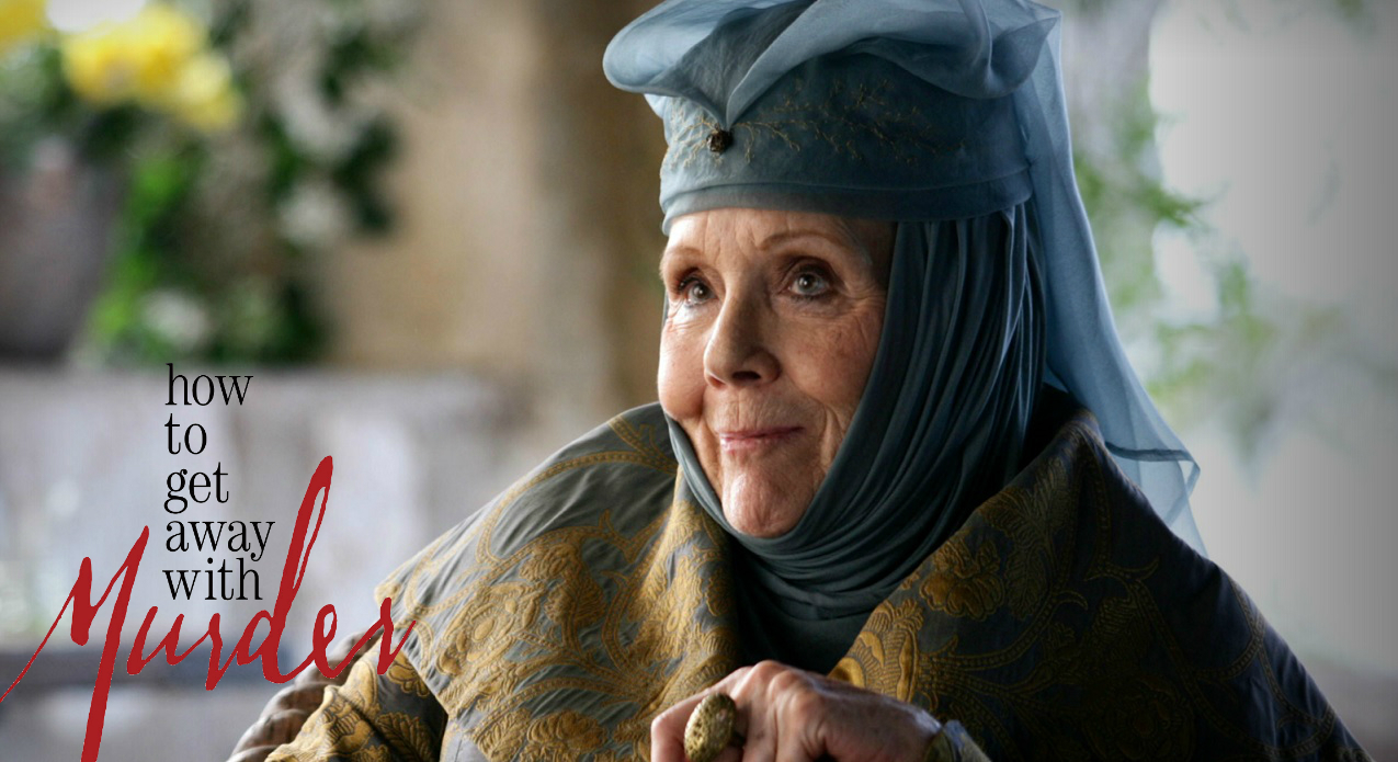 Olenna Tyrell in How To Get Away With Murder