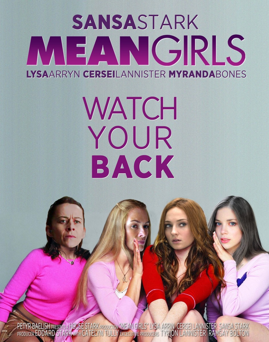 Sansa Stark in Mean Girls