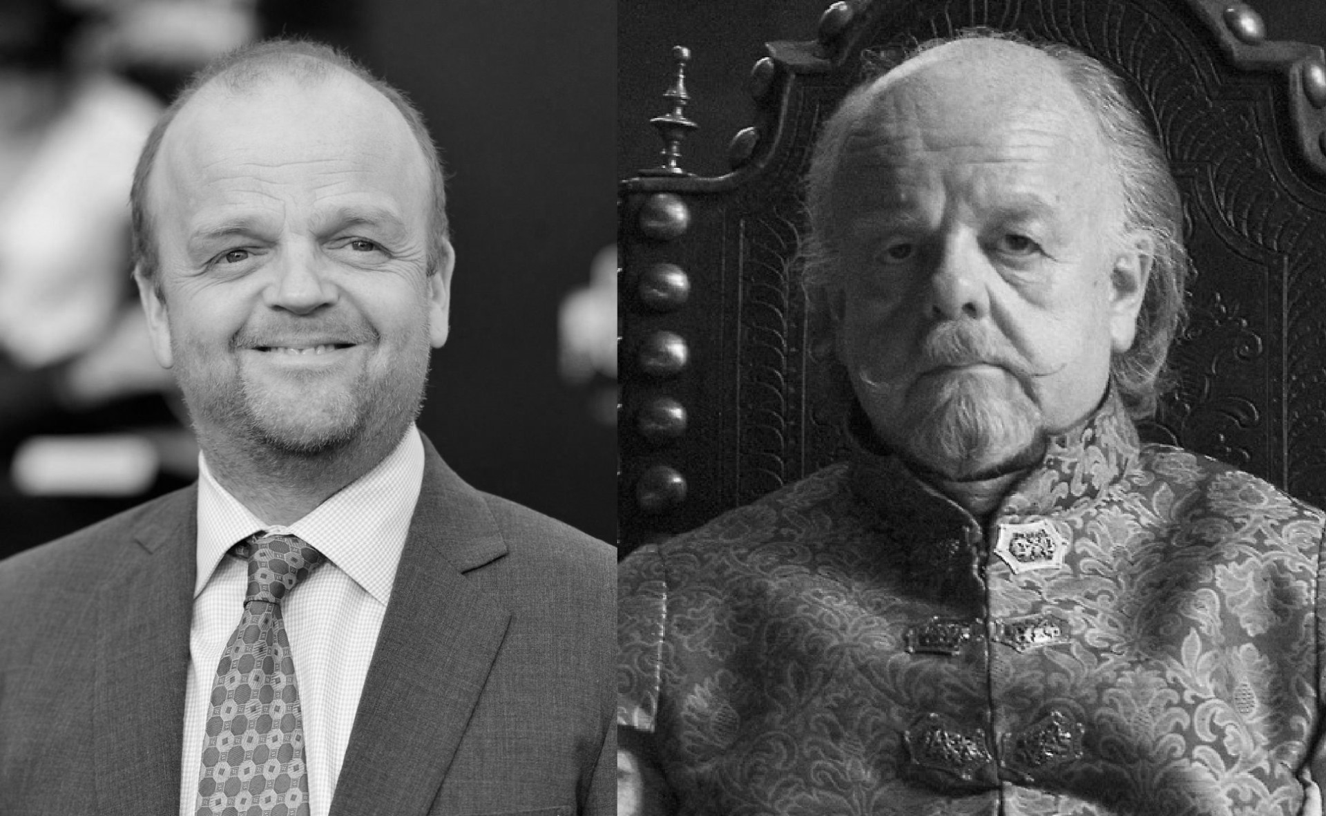 Toby Jones as Mace Tyrell the Lord Oaf of Highgarden