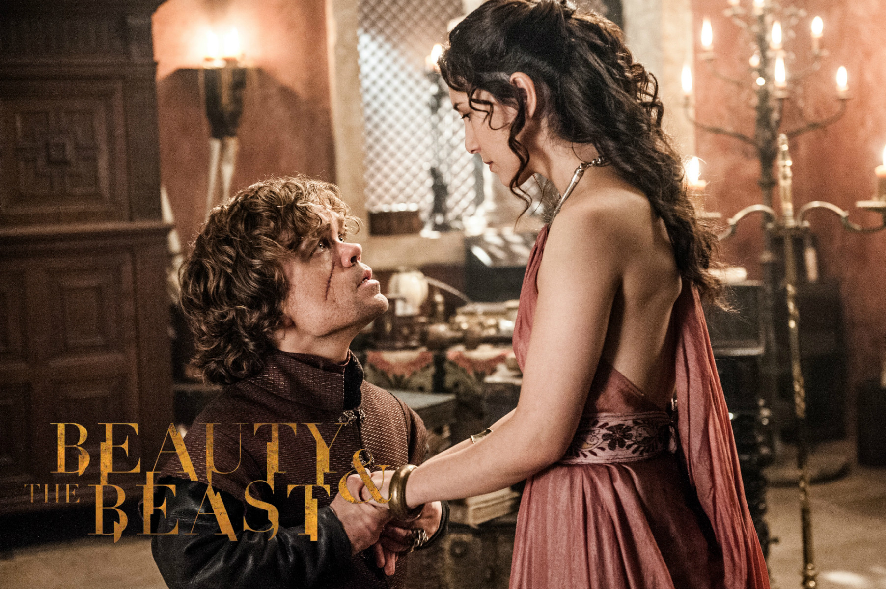 Tyrion Lannister and Shae in Beauty and The Beast