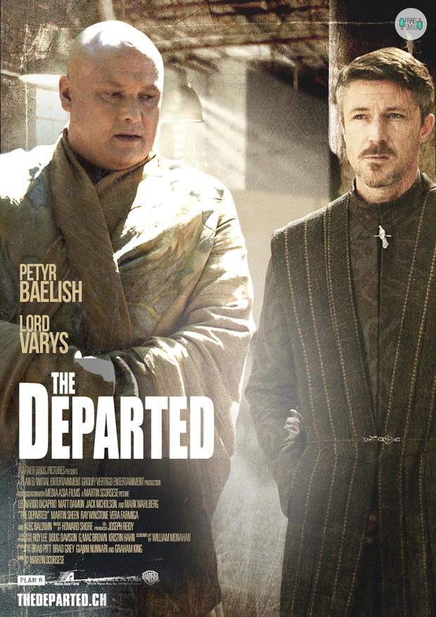 Varys and Littlefinger - The Departed