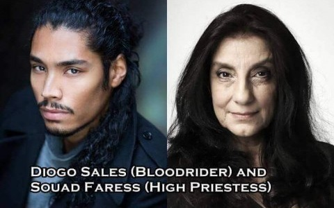 Bloodrider, High Priestess - Diogo Sales, Souad Faress