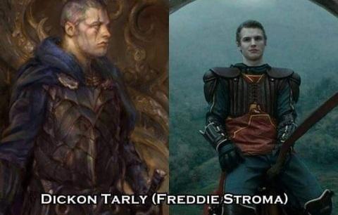 Dickon Tarly - Freddie Stroma