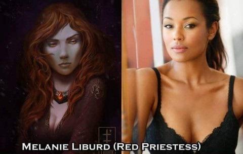 Red Priestess - Melanie Liburd