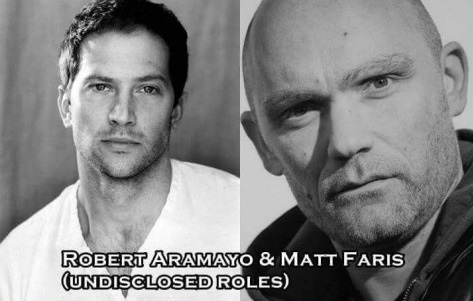 Unknown Roles - Robert Aramayo, Matt Faris