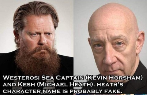 Westerosi Sea Captain, Kesh - Kevin Horsham, Michael Heath