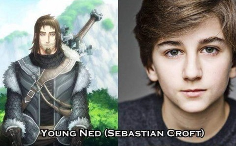 Young Ned Stark - Sebastian Croft