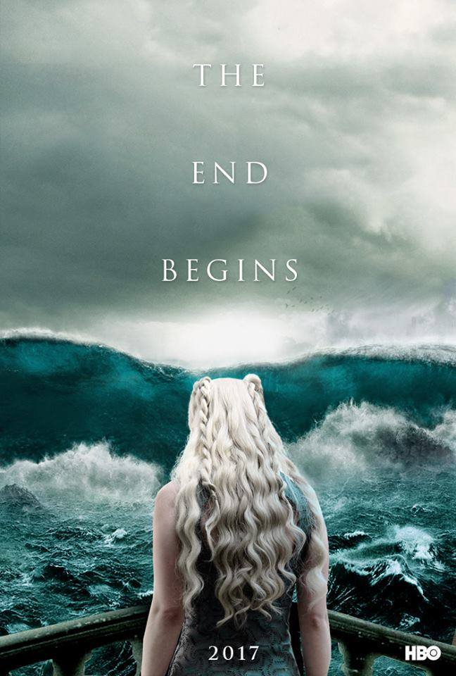 Daenerys Targaryen - GoT Season 7 Fan Poster