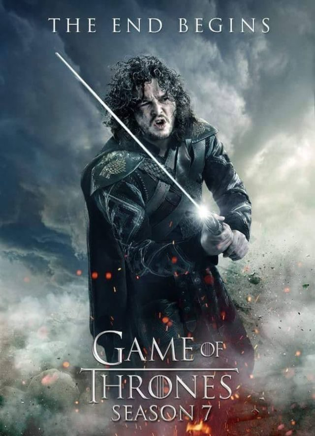 Jon Snow - GoT Season 7 Fan Poster