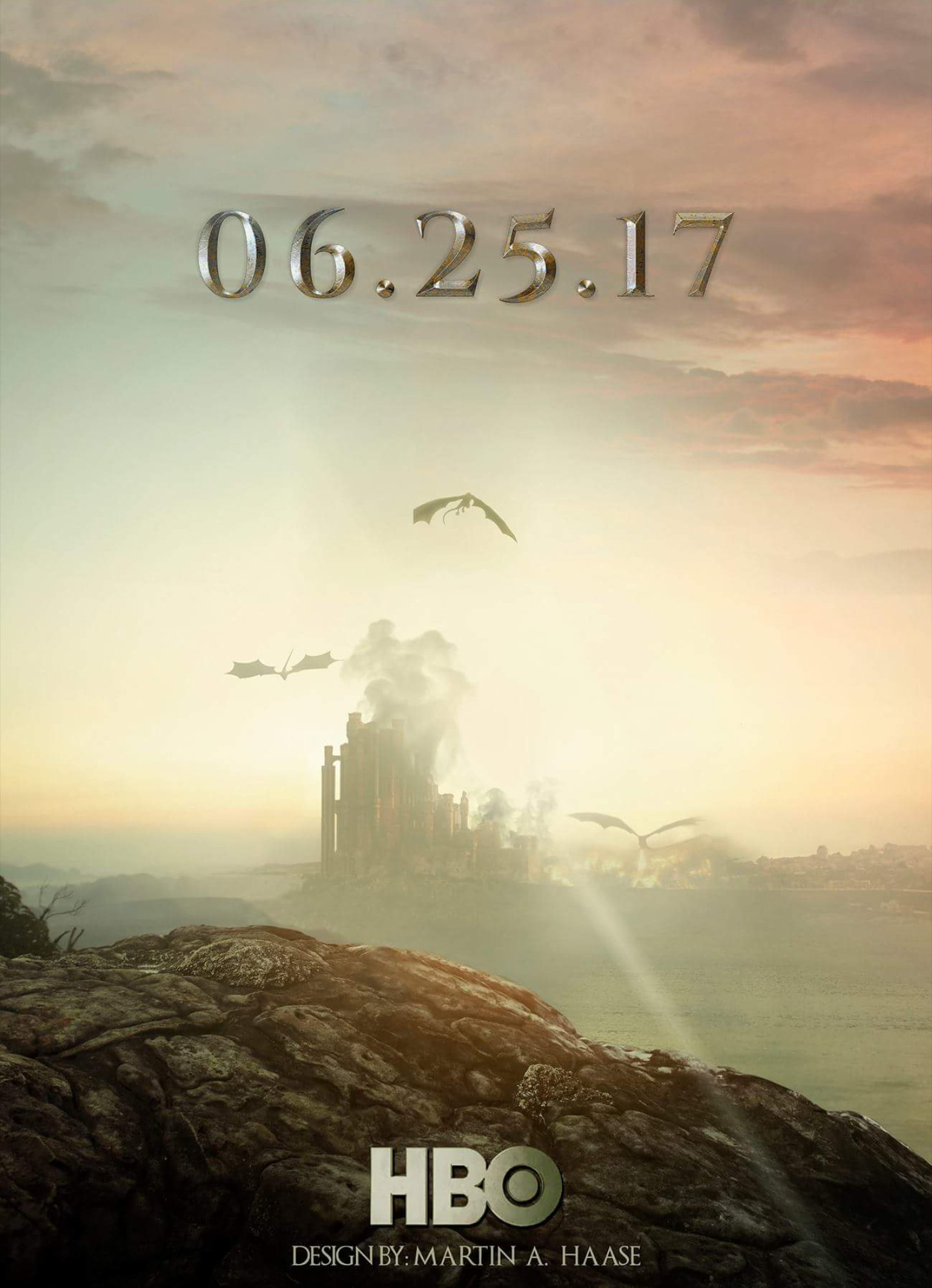 Kings Landing - GoT Season 7 Fan Poster
