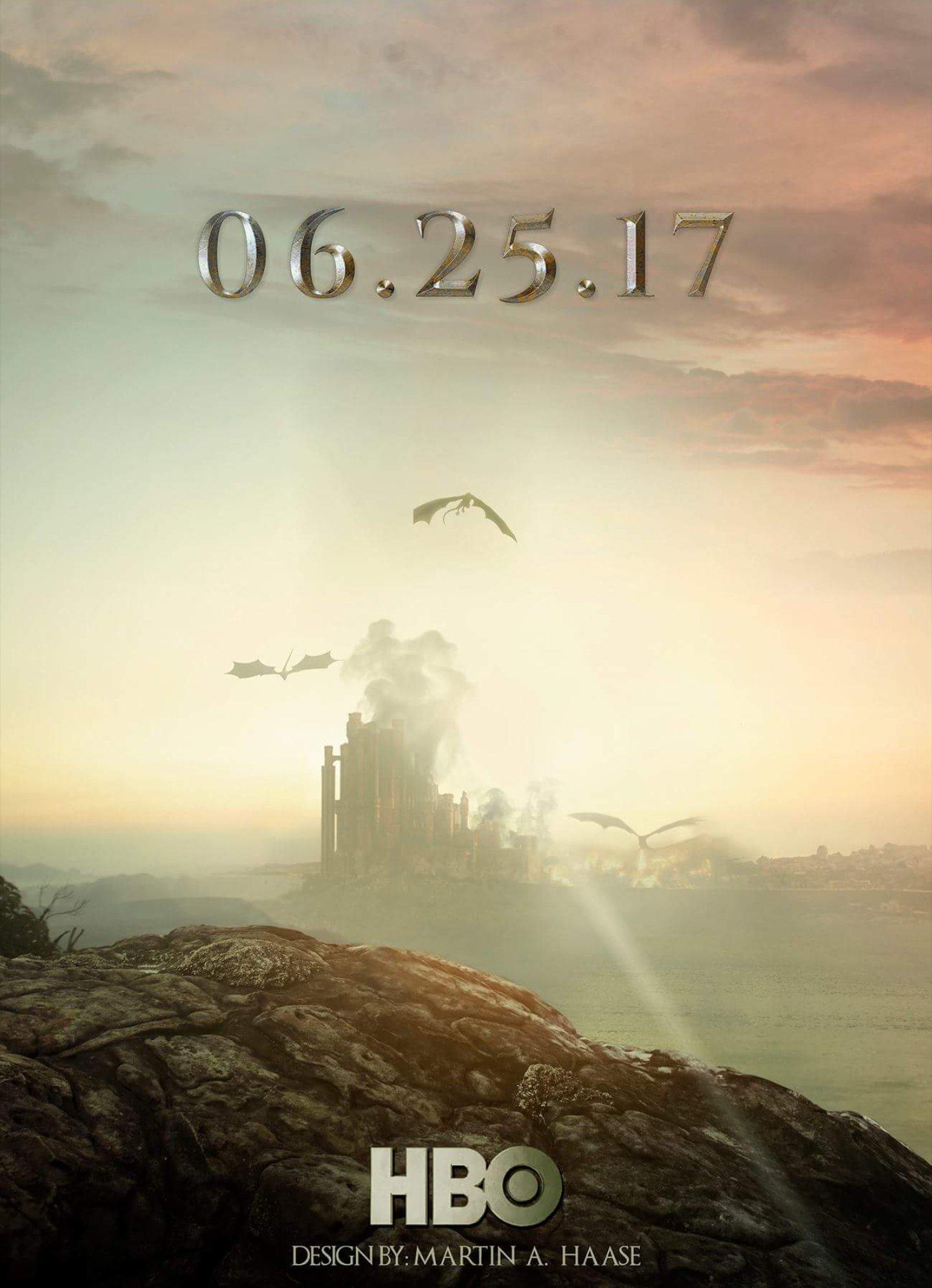 Kings Landing - GoT Season 7 Fan Poster