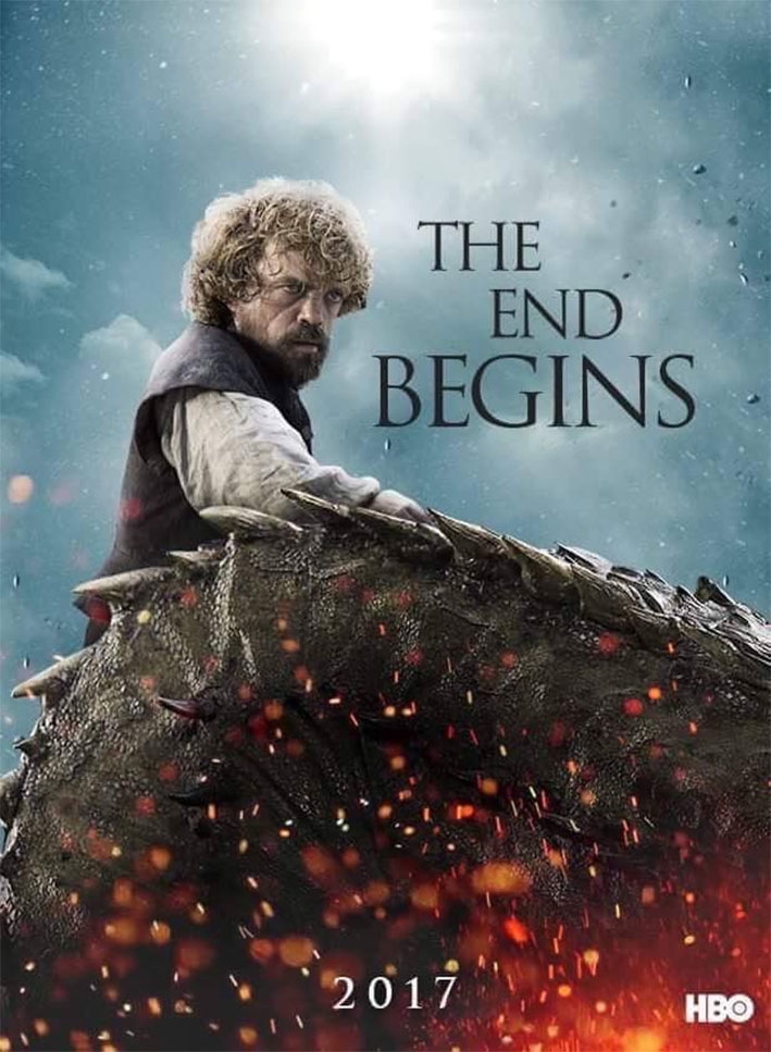 Tyrion - GoT Season 7 Fan Poster