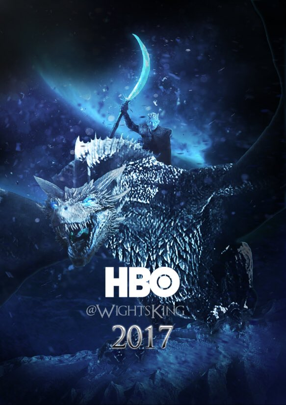 Wight King - GoT Season 7 Fan Poster
