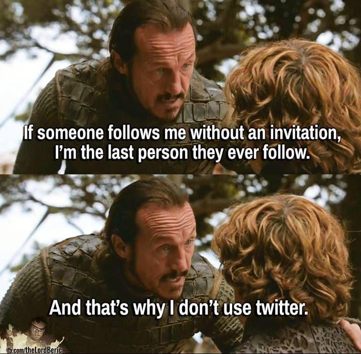 Bronn Twitter