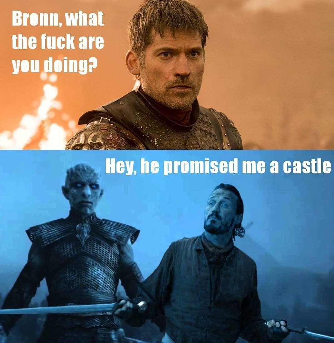 Bronn and Night King