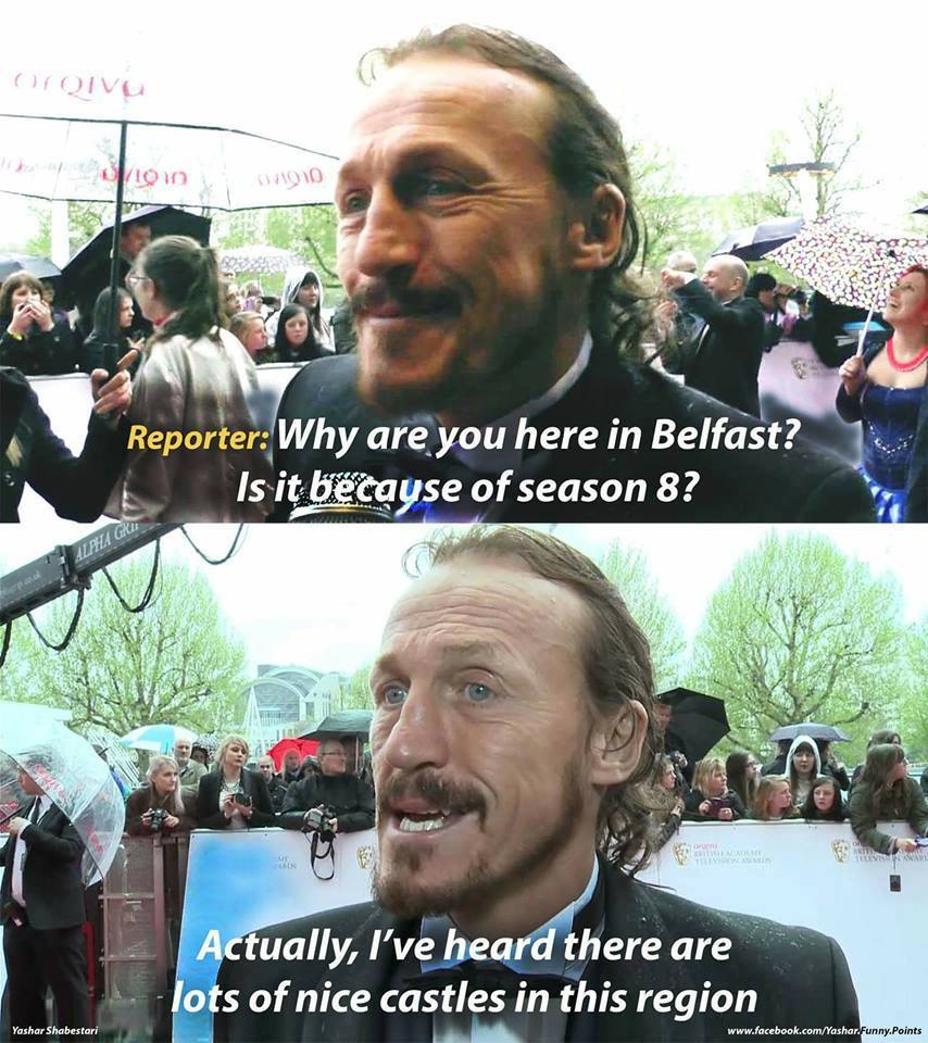 Jerome Flynn Bronn Interview