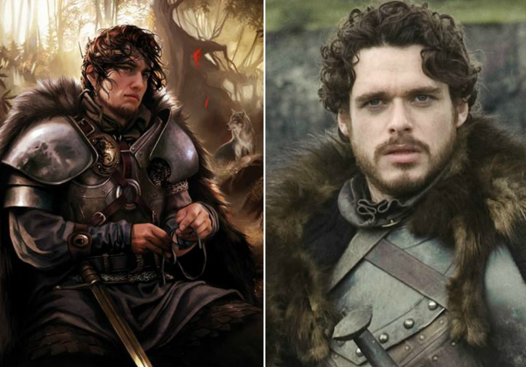 How 15 Game Of Thrones Characters Are Different Than Their