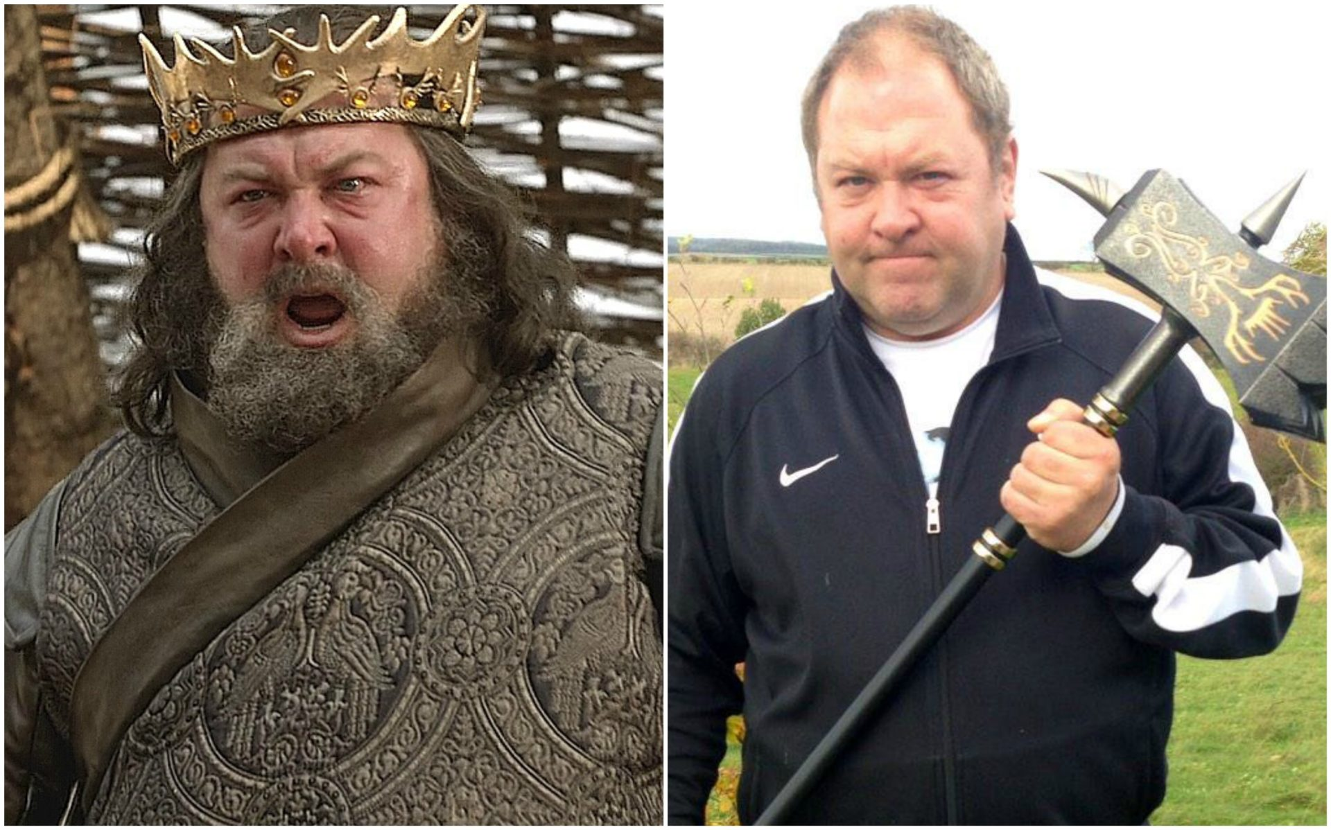 Mark Addy as Robert Baratheon